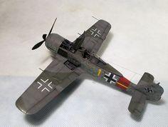 BUILT 1/48  Fw 190A-8/R2 + PE interior  #EduardProfiPackPEEduardinteriorset