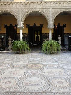 Spain Travel Inspiration - Thinking of visiting Seville on your next vacation to Europe then why not check out my hand travel guide to Seville which is perfect for a 3 night stay in this gorgeous Spanish city; home to beautiful ceramics and tiles which make the perfect souvenir. Click the link to read more Seville Travel Tips and why you should visit Seville....Lebrija Palace