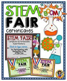 Parent award certificates free certificate templates for Stem certificate template