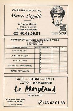 Calendrier 1985-1986 - 2ème Division - Page 25
