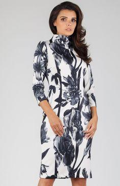 27fd851091 Nommo NA330 sukienka bloom - Sukienki do pracy - Sukienki - MODA DAMSKA -  Sklep internetowy