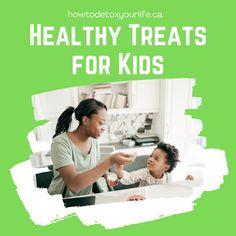 Healthy treats for kids - refined-sugar free treats, dairy free treats and lactose free treats. Dairy Free Treats, Sugar Free Treats, Healthy Treats For Kids, Lactose Free, Natural Solutions, Health Problems, Detox