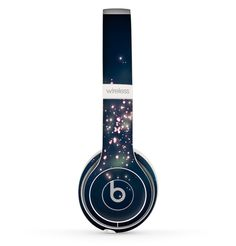 The Dark & Glowing Sparks Skin Set for the Beats by Dre Solo 2 Wireless Headphones Cute Headphones, Wireless Headphones, Beats Headphones, Over Ear Headphones, Cheap Beats, Steampunk Boots, Beats By Dre, Cool Phone Cases, Emo Fashion