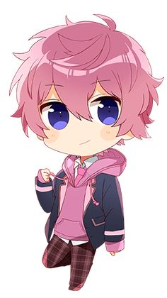 Chibi Boy, Cute Anime Chibi, Kawaii Chibi, Cute Anime Guys, Anime Love, Kawaii Anime, Cartoon Drawings, Cute Drawings, Otaku Anime