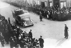 Memel, Lithuania, 23/03/1939, Deportation of Jews and their property, upon the arrival of the Germans.