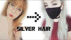 #silverhair #greyhair #wella050 #wellaT18 #hair #hairtutorial #tutorial #youtuber #silverhairtutorial #greyhairtutorial