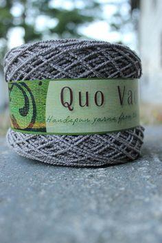 logwood grey - hand-dyed bamboo + cotton sock yarn