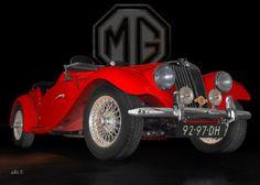 MG Midget TF (1953-1955)