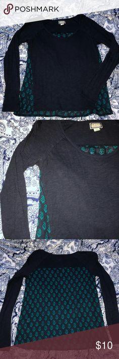 Peter Dunham for Lucky Brand Shirt, Medium Peter Dunham for Lucky Brand Shirt, Medium, dark gray and teal, no flaws Lucky Brand Tops Blouses