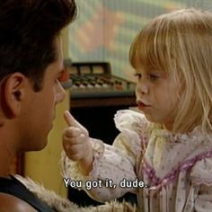 Chances are if you were a child of the 90's you would know that catchphrase all too well! {curated onto https://www.pinterest.com/notjustretro/full-house-fuller-house/ }