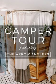 Camper Design Vibes: Modern Farmhouse-Inspired Fifth Wheel Camper Interior Design, Campervan Interior, Rv Interior, Rv Kitchen Remodel, Farmhouse Remodel, Truck Camper, Diy Camper, Camper Ideas, Rv Living
