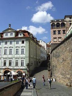 Lesser Town in Prague, #czechrepublic #beautifulplaces