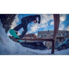 Instagram #skateboarding photo by @as.framed - Flat bar sesh outside a random apartment in Montreal. The owner arrived home and was pretty bummed disputed his daughters fixation from the window. We definitely have a young shredder in the making thanks to @joshoakesmedia  steez. BS Lip to Fakie.  @  Adventures with @ambitionsnowskates & @redbullcanada  _____________________________________________________  #snowskating  #Snowboarding#Skateboarding #thrashermag#ambitionarmy…