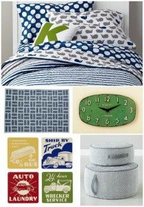 Big Boy Room Inspiration with @The Land of Nod