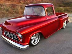 Chevy trucks aficionados are not just after the newer trucks built by Chevrolet. They are also into oldies but goodies trucks that have been magnificently preserved for long years. 57 Chevy Trucks, Chevy Pickups, Lifted Trucks, Chevy 4x4, Dually Trucks, Lifted Chevy, Chevy Stepside, 1955 Chevy, Classic Pickup Trucks