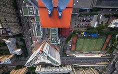 Skywalkers, impresionantes y peligrosas fotos a grandes alturas