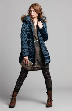 GUESS Jacket, Halogen® Topper & Adrianna Papell Dress   Nordstrom