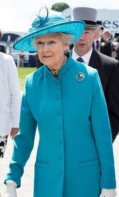 Princess Alexandra, June 6, 2015 in Rachel Trevor Morgan | Royal Hats