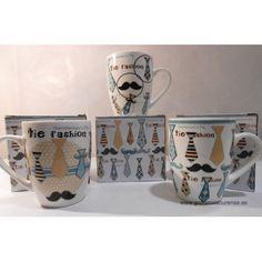 Taza corbata padre Tie Styles, Mugs, Tableware, Ties, Dinnerware, Tablewares, Mug, Place Settings