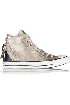 Chuck Taylor All Star Tri Zip leather high-top sneakers | sheerluxe.com