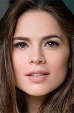 Hayley Atwell ( #HayleyAtwell ) - an American-British actress, best known for her stage performance in A View from the Bridge, and for her film roles such as Angela Stark in Cassandra's Dream, Bess Foster in The Duchess, and as Aliena in The Pillars of the Earth miniseries - born on Monday, April 5th, 1982 in London, England