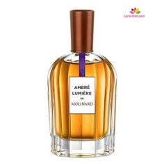 Ambre Lumiere Molinard perfume - a fragrance for women and men 2014 Fragrance Parfum, New Fragrances, Liquor Bottles, Perfume Bottles, Tolu, Ambre, Best Perfume, Body Lotions, Parfum Spray