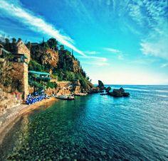 Mermerli Beach, Antalya, Turkey by onderkoca