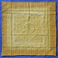 Welsh Quilt from Whitland: The Quilters' Guild Wool Quilts, Amish Quilts, Antique Quilts, Vintage Quilts, Hand Quilting Designs, Quilt Designs, Quilting Ideas, Embroidery Patterns, Quilt Patterns