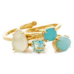 Kate Spade Stack Attack Stackable Ring Set