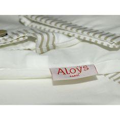 Aloÿs tunique encolure carrée beige bébé cadeau de naissance
