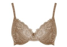 style 9004-2: triumph seductive essence bra in cashew / from R299.95 for two bras at selected foschini and stuttafords stores (C-E CUP SIZES)