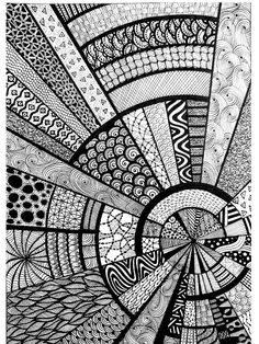 31 Ideas for doodle art ideas draw zentangle patterns The Effective Pictures We Offer You About my ideas board A quality picture can tell you … Doodle Art Drawing, Zentangle Drawings, Doodles Zentangles, Mandala Drawing, Drawing Tips, Doodling Art, Drawing Ideas, Mandala Sketch, Mandala Doodle