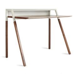 Small Modern Desk home office furniture, desks, chairs and shelves | west elm | a