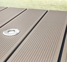 wood plastic decking have wood grain, how to attach composite decking