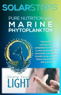 Marine phytoplankton is a product you want in your body. Take 1-2 SolarStrips daily and feel the difference. http://sofija.fgxpress.com