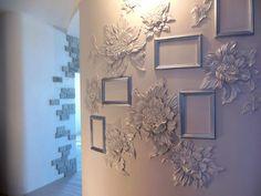 39 Ideas For Bedroom Paint Designs Artworks Plaster Sculpture, Plaster Art, Wall Sculptures, Ceiling Design, Wall Design, Bedroom Paint Design, Mural Wall Art, 3d Wall Decor, Diy Wall