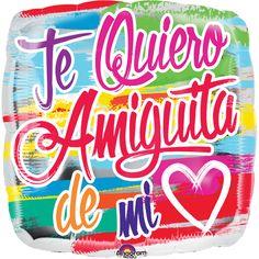 #Globos #Metalizados #Te Quiero #Amiguita!! #Bendecido #Viernes!!