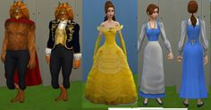 Mod The Sims - Belle & the Beast: Disney Fairytale Collection Pt. 9