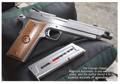 1911 Coonan .357 MagnumLoading that magazine is a pain! Excellent loader available for your handgun Get your Magazine speedloader today! http://www.amazon.com/shops/raeind