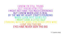 Scotty McCreery <3 I Love You This Big