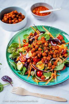 Rauchiger Ponderosa BBQ-Salat. Da werden selbst Nicht-Veganer schwach #vegan | GourmetGuerilla.de