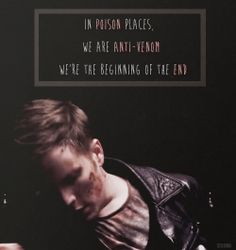 Fall out Boy lyrics to Young Valcanoes.They write the best lyrics ever.Not only are they inspiring they're really great together.