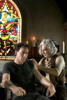 Nicolas Cage & Sam Elliott  ** What can I say .. another GREAT combination