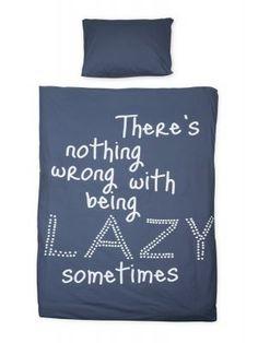 vtwonen Lazy Dekbedovertrek Jeans Blue - 140 x 220 cm #bedroom #myhomeshopping