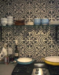 granada tiles - cluny by DSM DESIGN STUDIO, via Flickr  cement tile, concrete tile, encaustic tile #cementtile #cementtiles #concretetile #concretetiles #encaustictile #encaustictiles