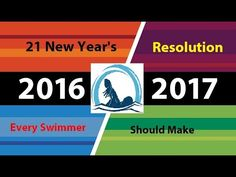 21 New Year's Resolutions Every Swimmer Should Make Swimming Videos, Swimming Tips, Daily News, Resolutions, Youtube, How To Make, Youtubers, Youtube Movies