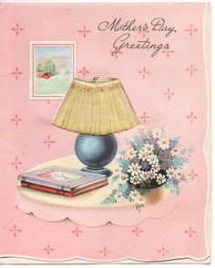 VINTAGE Greeting Card MOTHER'S Day 1942 Mother's Day by 2sisters, $2.50