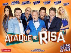 ATAQUE DE RISA - 23Y 25/09 - San Luis en Imagen - Agenda Cultural
