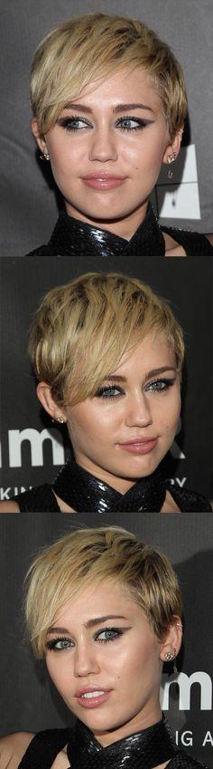 Medium Blonde Short Straight Hair