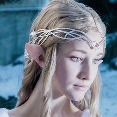 Wood Elf Ears. Great cosplay.